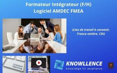 Formateur Intégrateur Logiciel AMDEC FMEA (H/F)