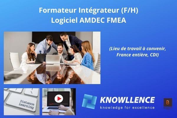 Emploi formateur logiciel FMEA AMDEC F/H